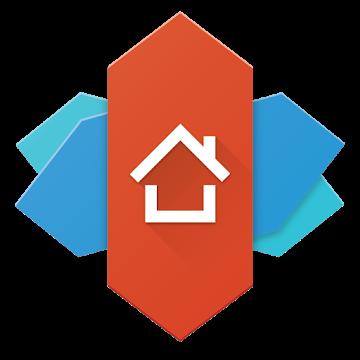 Nova Launcher ホームのアプリアイコン