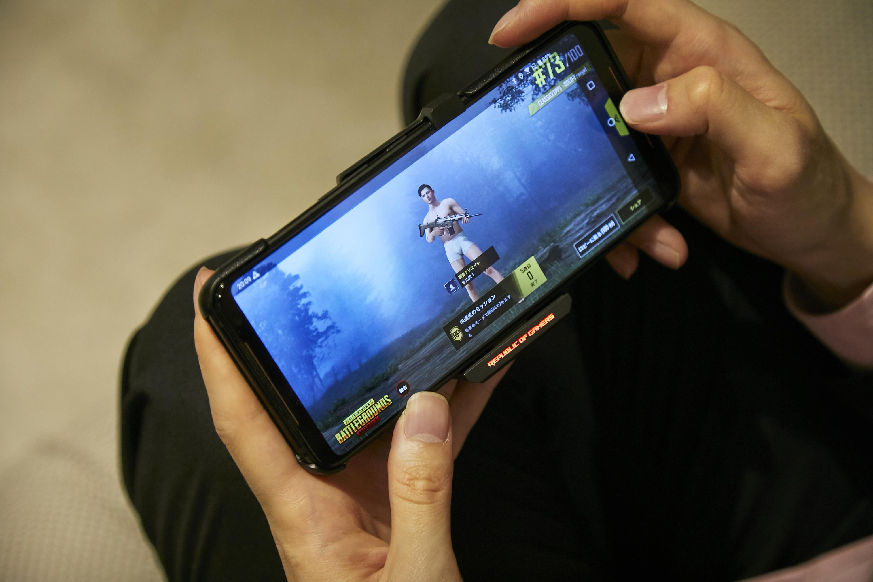 ASUS ROG Phone Ⅱの使用場面