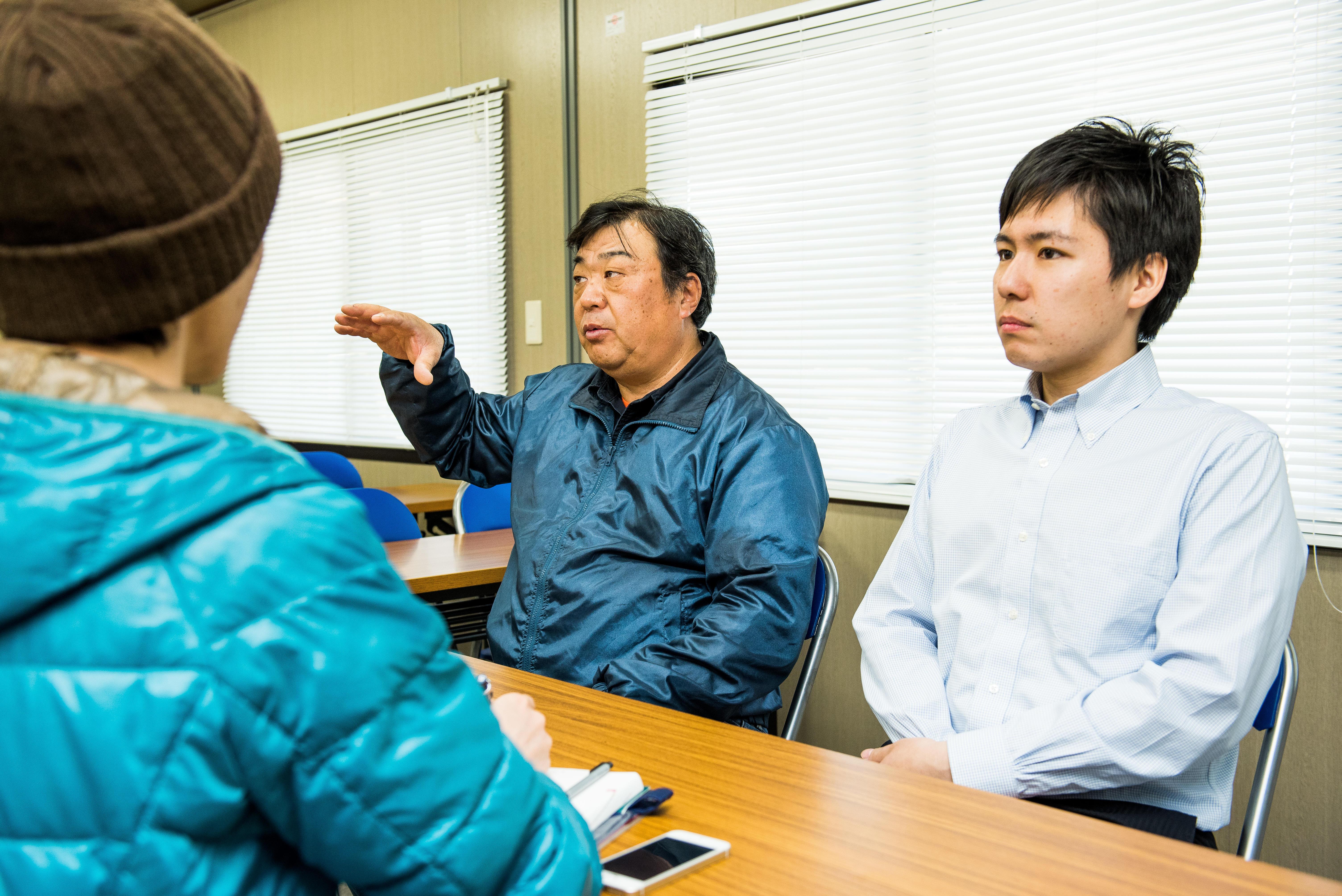 依田健一さん、田中寛さん